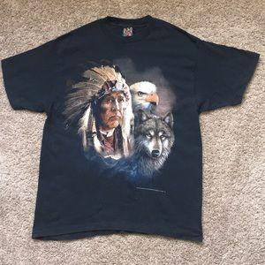 Vintage 1993 3D Emblem T Shirt